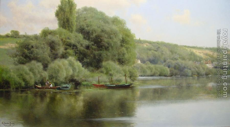 Emilio Sanchez-Perrier : Calm Waters at Chaponval