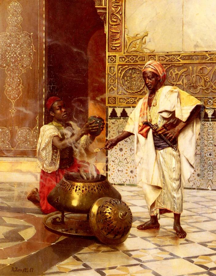 Rudolf Ernst : In The Alhambra