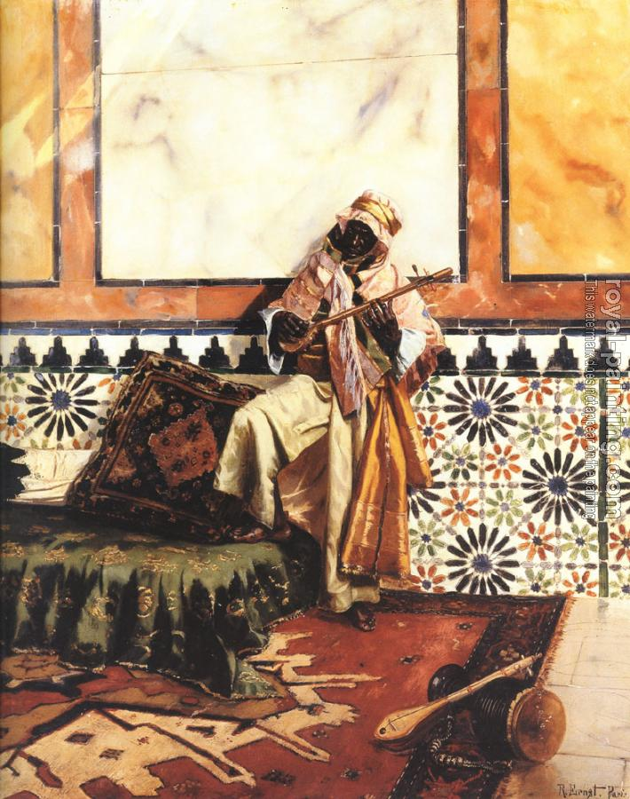 Rudolf Ernst : Gnaoua in a North African Interior