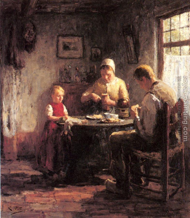 Evert Pieters : The Afternoon Meal