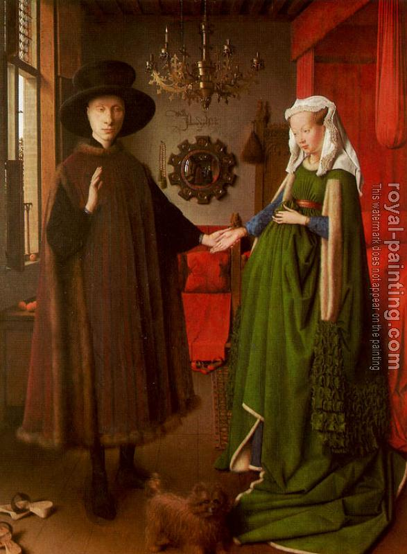 Jan Van Eyck : The Arnolfini Marriage