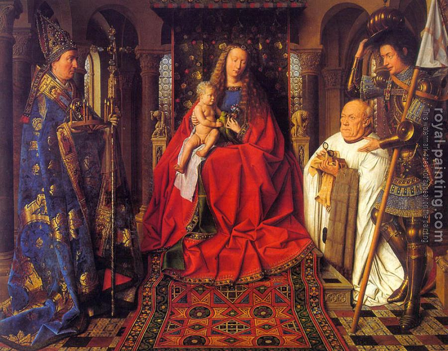 Jan Van Eyck : The Madonna of Canon van der Paele
