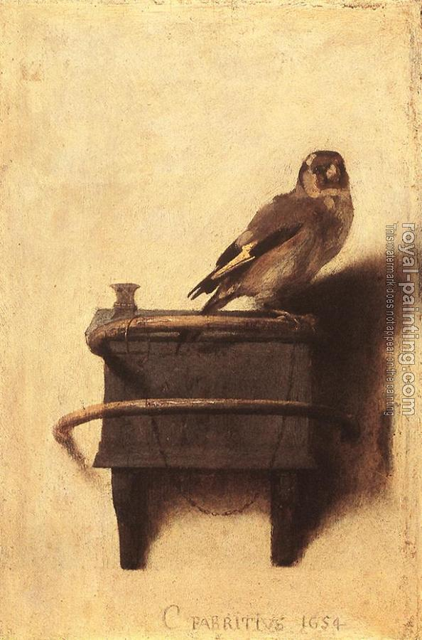 Carel Fabritius : The Goldfinch