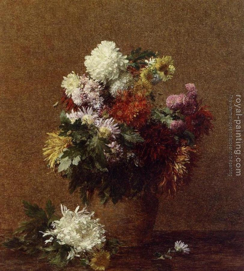 Large Bouquet of Chrysanthemums II