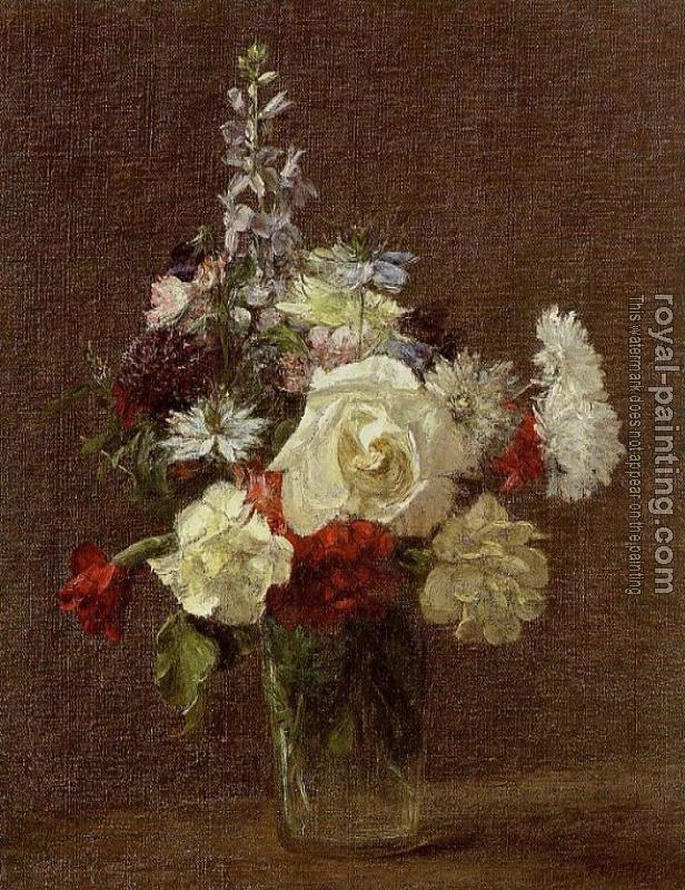 Henri Fantin-Latour : Mixed Flowers