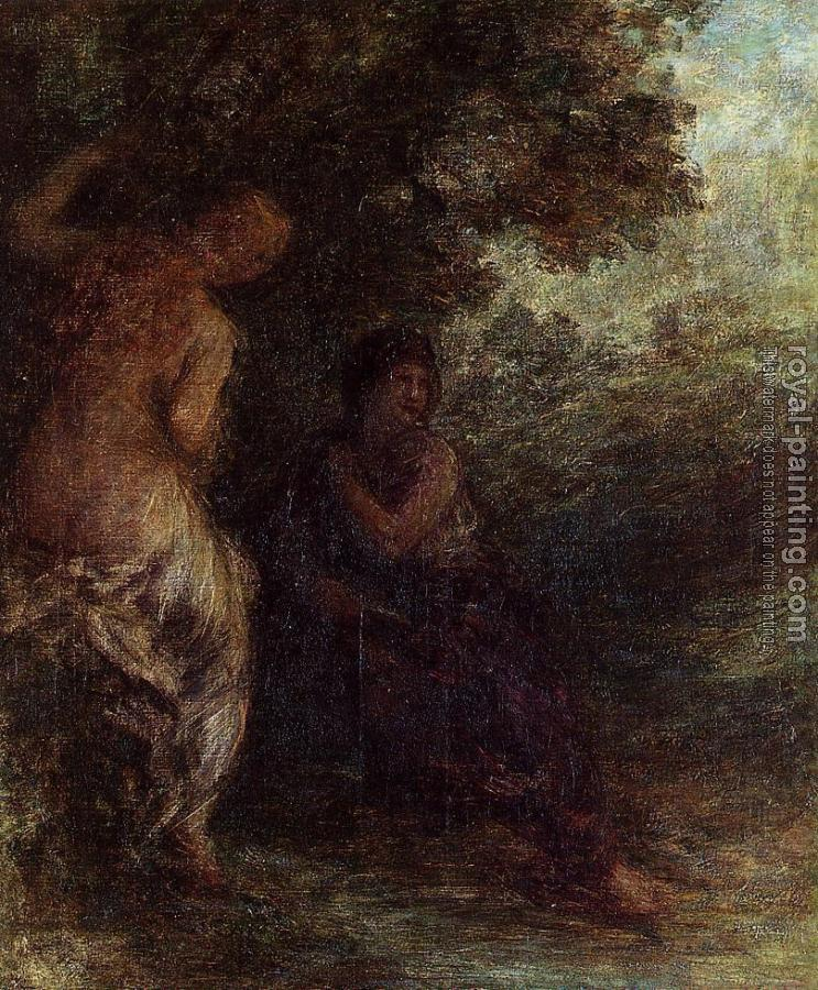 Henri Fantin-Latour : Two Bathers