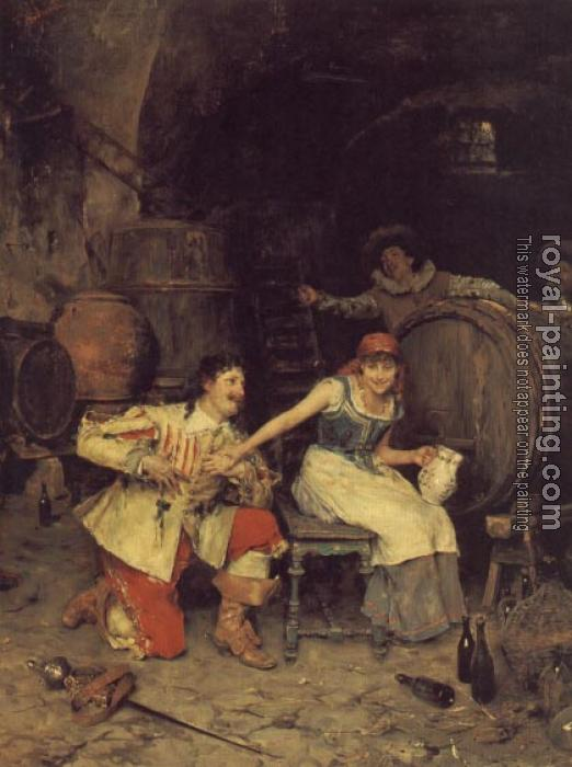 Federico Andreotti : Flirtation in the Wine Cellar