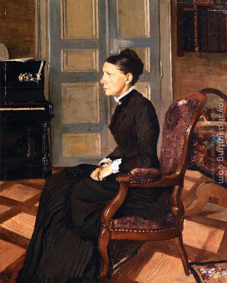 Felix Vallotton : The Artist's Mother