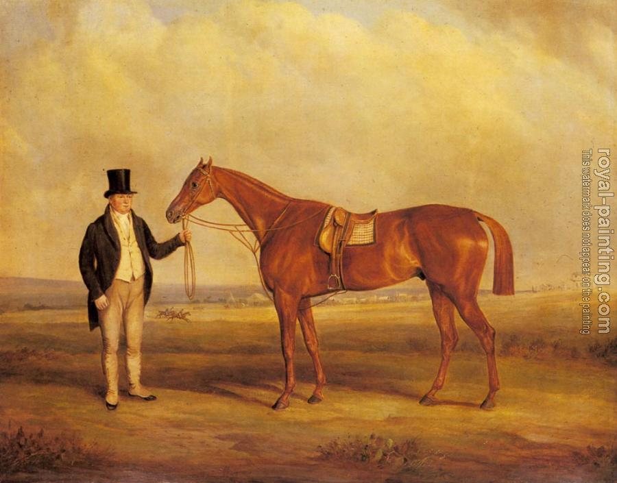 A Gentleman Holding Dangerous, the Winner of the Derby