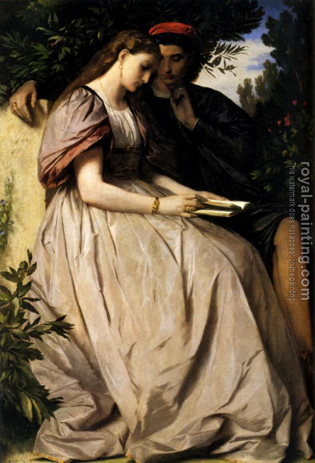 Anselm Feuerbach : Paolo And Francesca