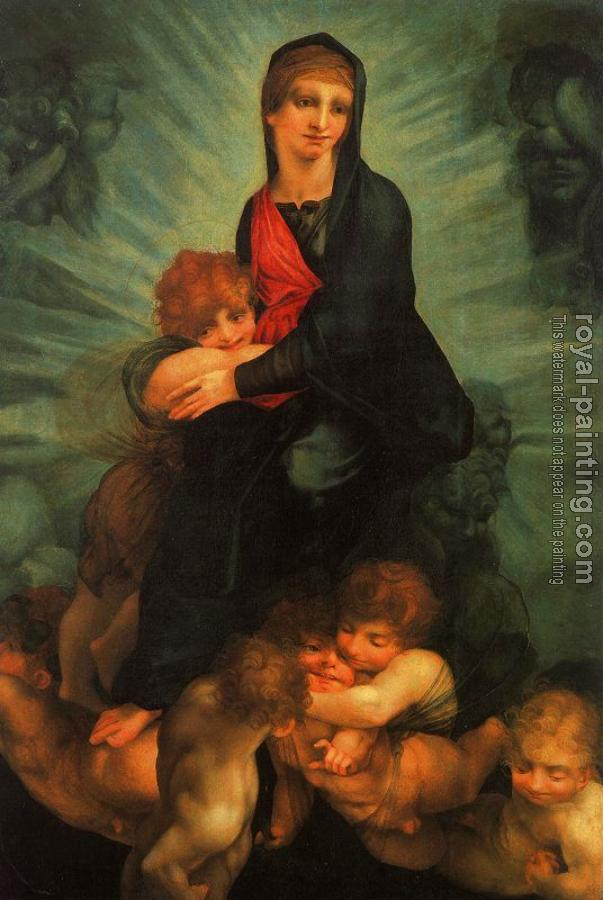 Madonna and Child with Putti
