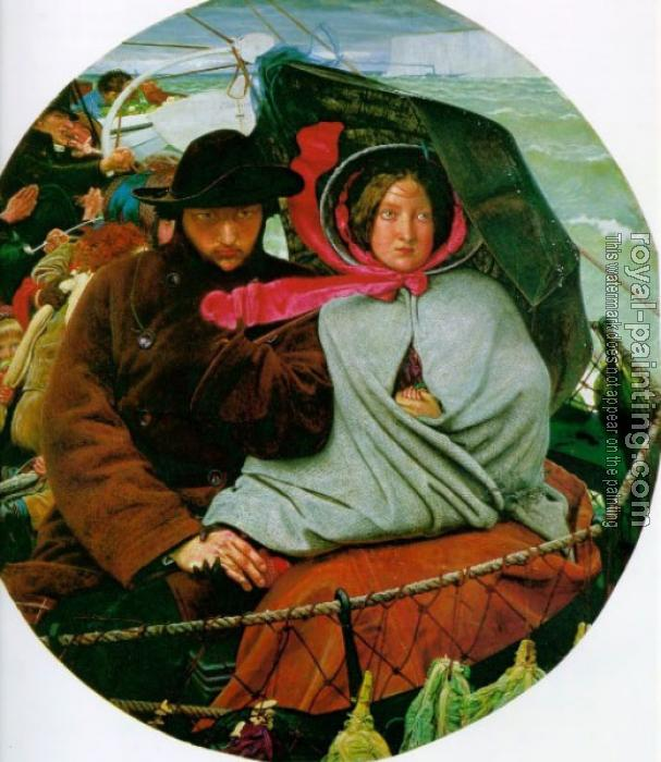 Ford Madox Brown : The Last of England by Ford Madox Brown
