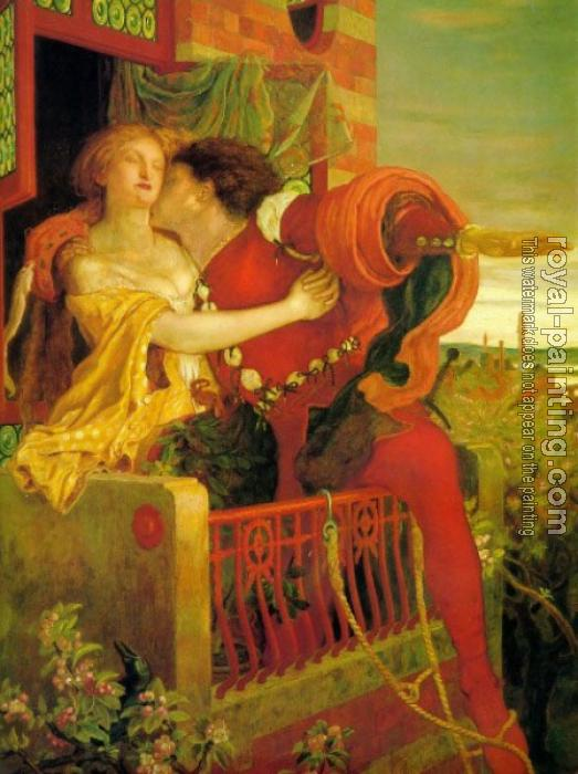 Ford Madox Brown : Romeo and Juliet