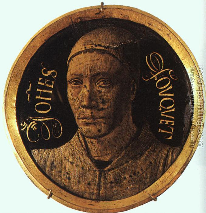 Jean Fouquet : Self-portrait