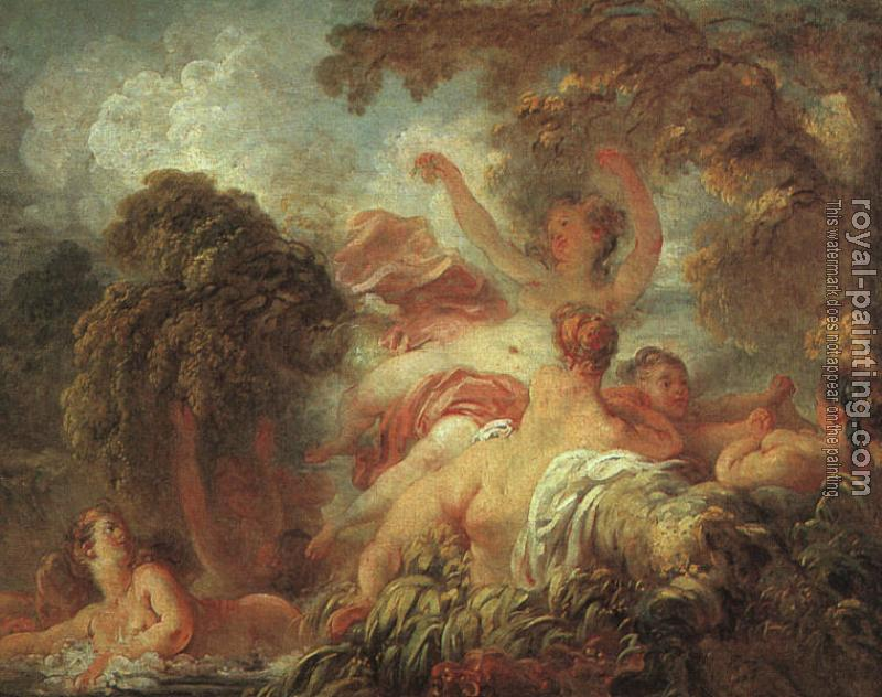 Jean-Honore Fragonard : The Bathers