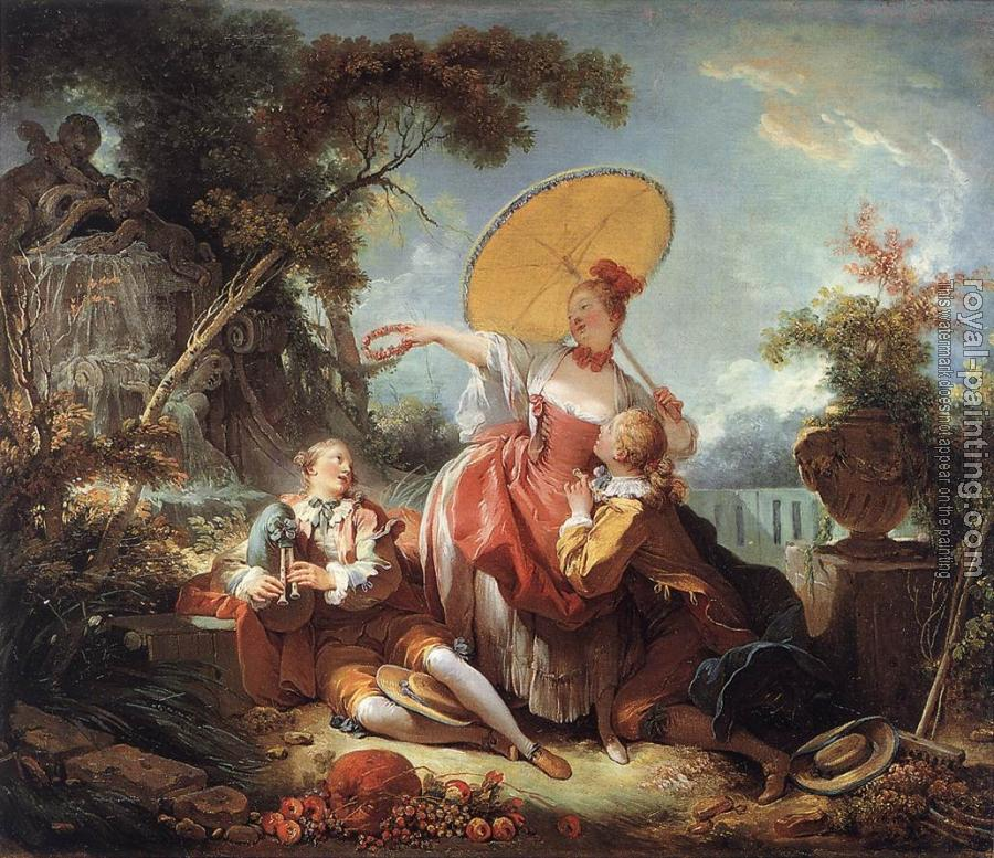 Jean-Honore Fragonard : The Musical Contest