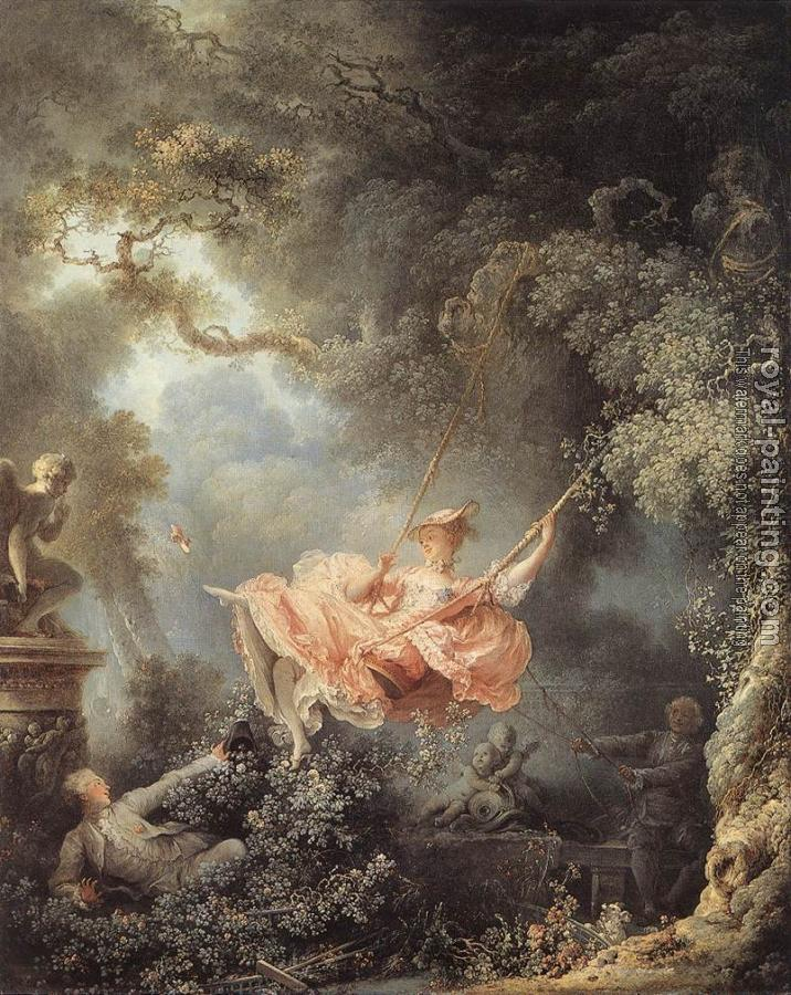 Jean-Honore Fragonard : The Swing II