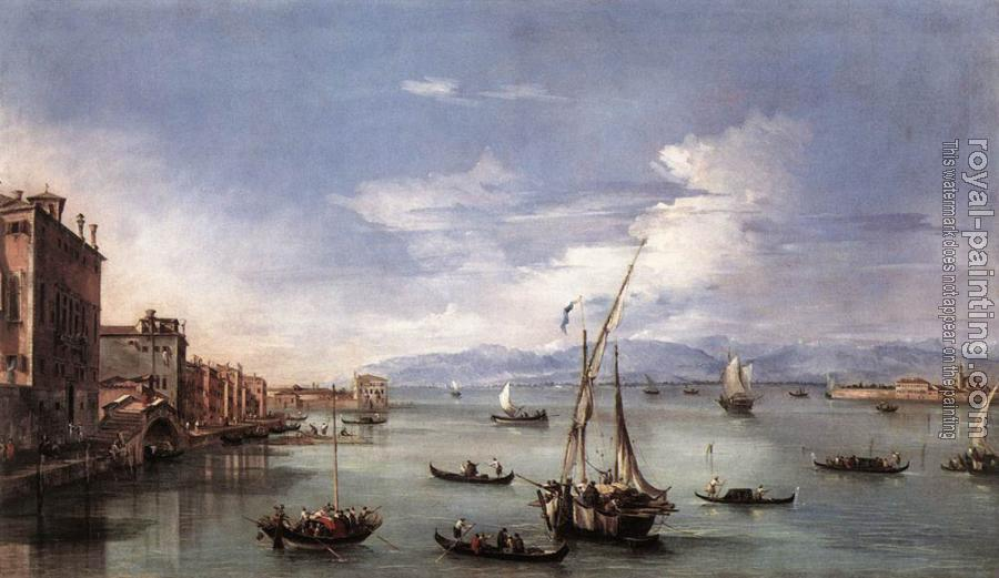 Francesco Guardi : The Lagoon from the Fondamenta Nuove