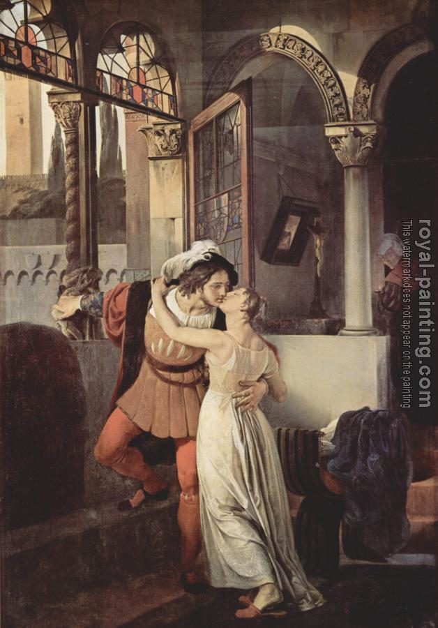 Francesco Hayez : Romeo and Juliet