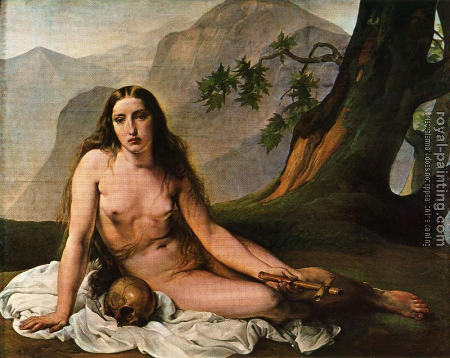 Francesco Hayez : The Penitent Mary Magdalene