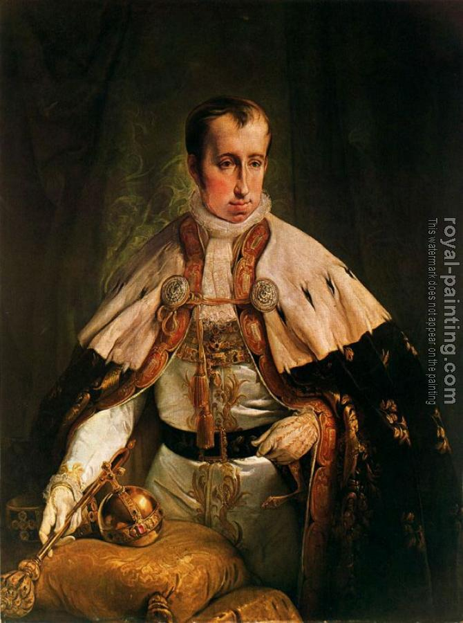 Francesco Hayez : Portrait of the Emperor Ferdinand I of Austria