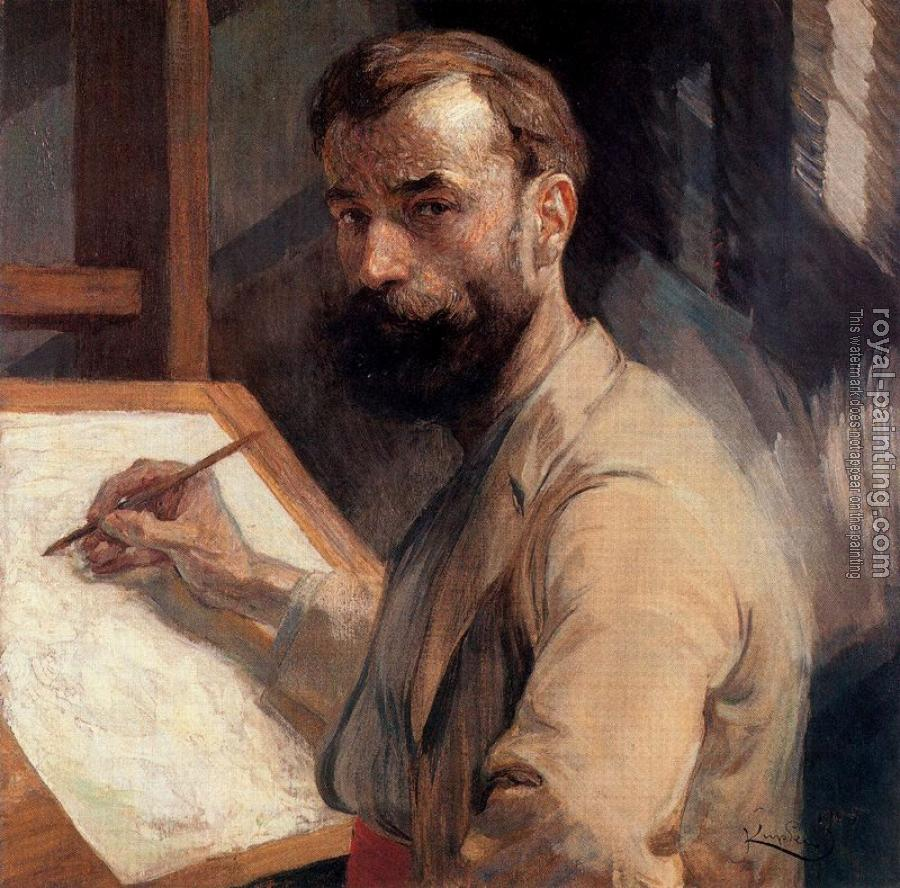 Frantisek Kupka : Self-Portrait