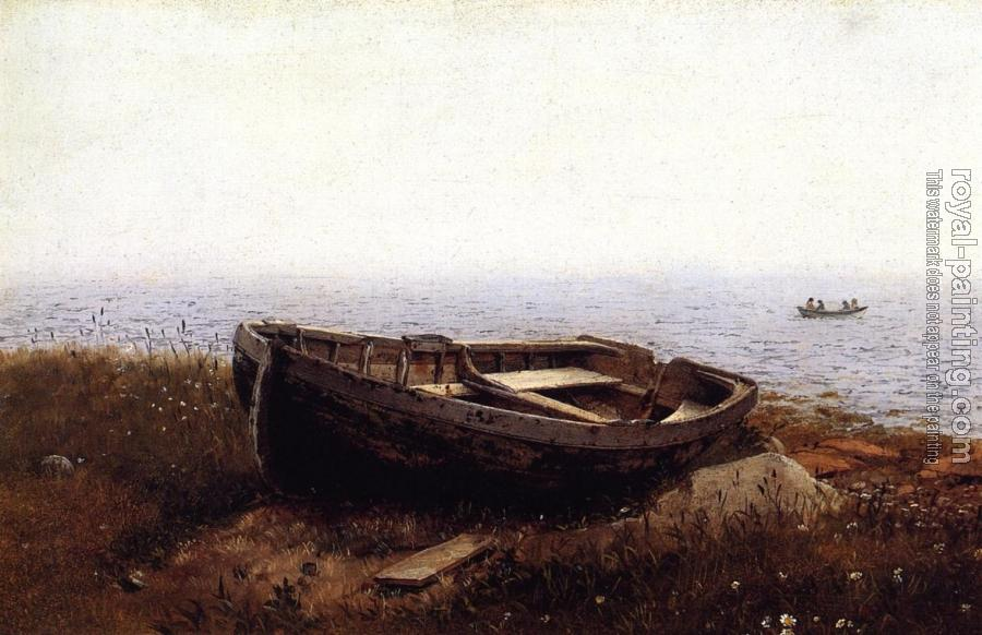 Frederic Edwin Church : The Old Boat