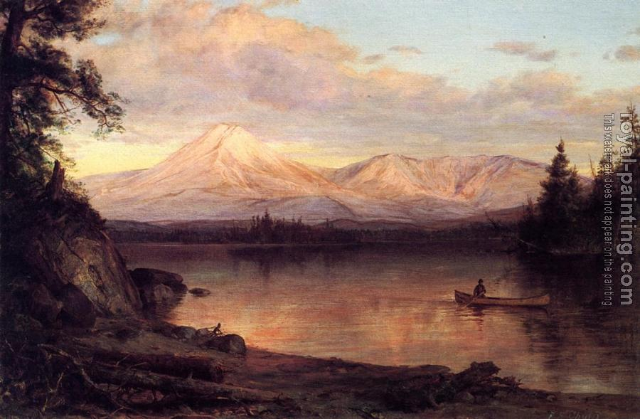 Frederic Edwin Church : View of Mount Katahdin