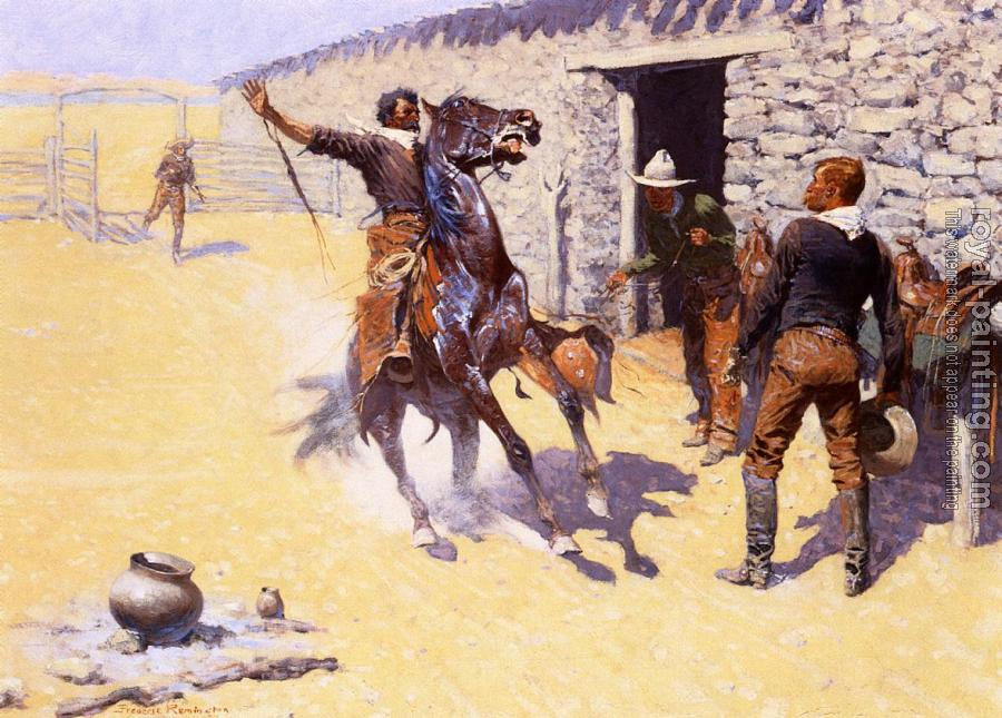 Frederic Remington : The Apaches