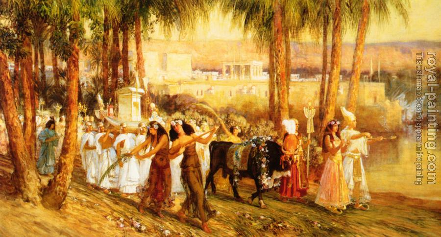 Frederick Arthur Bridgman : Procession in Honor of Isis