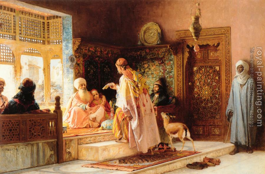 Frederick Arthur Bridgman : The Messenger