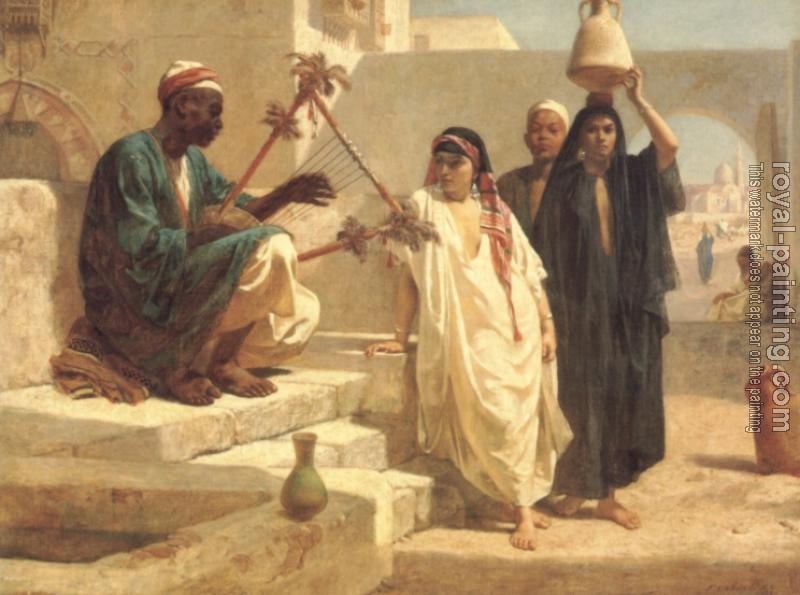 Frederick Goodall : The Song of the Nubian Slave