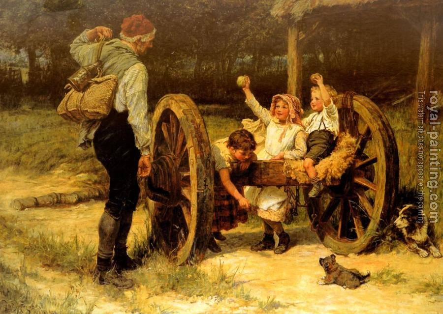 Frederick Morgan : Merry As The day Is Long