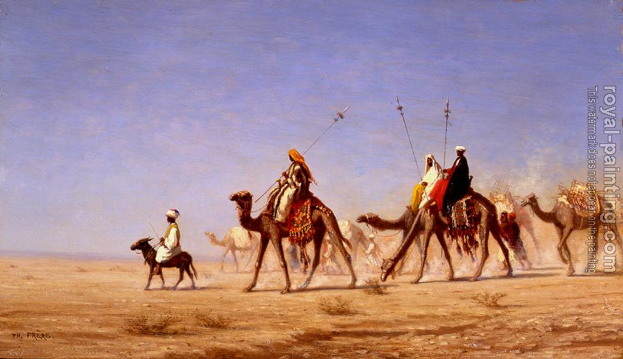 Charles Theodore Frere : A Caravan Crossing the Desert