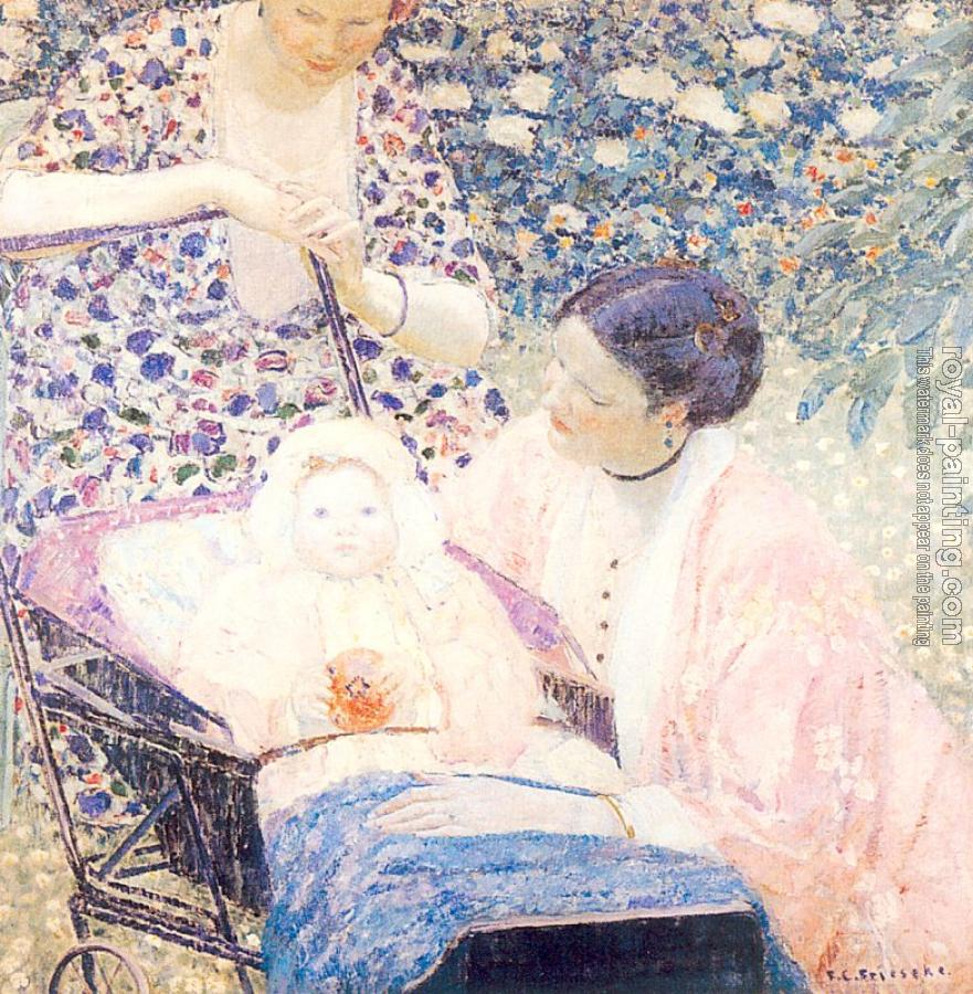 Frederick Carl Frieseke : The Mother