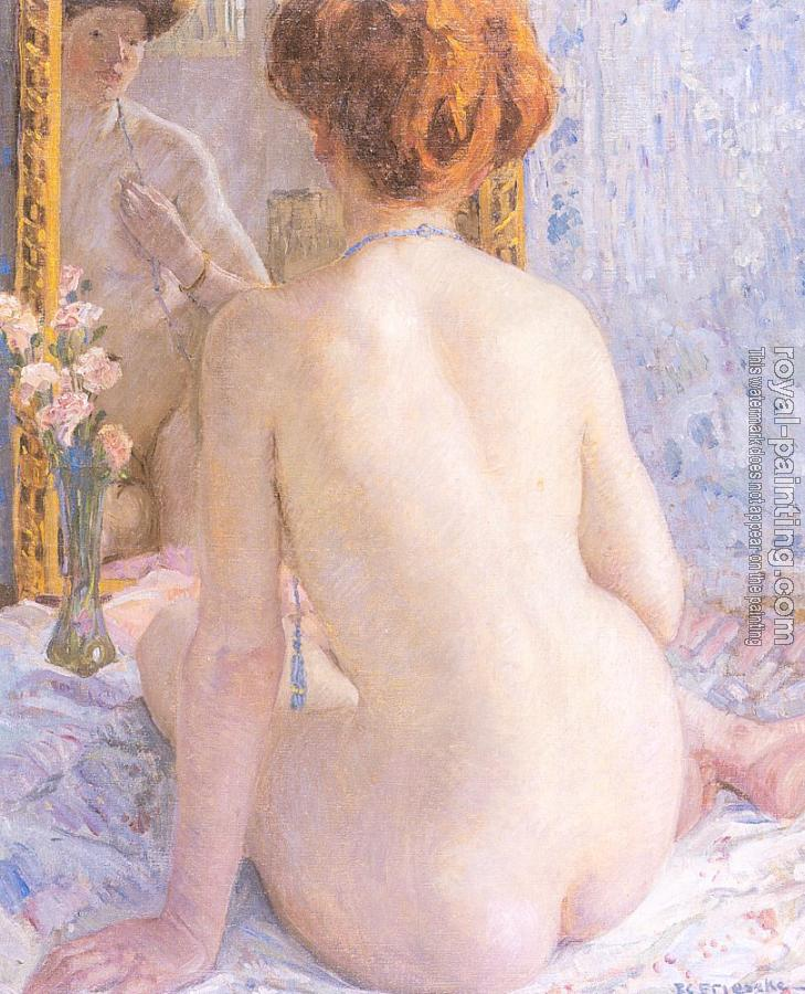 Frederick Carl Frieseke : Reflections (Marcelle)