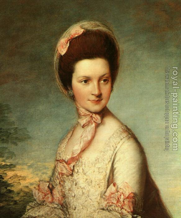 Thomas Gainsborough : Portrait of Henrietta Vernon (Lady Grosvenor, wife of Richard, first Earl Grosvenor)