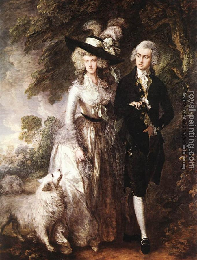 Thomas Gainsborough : Mr and Mrs William Hallett