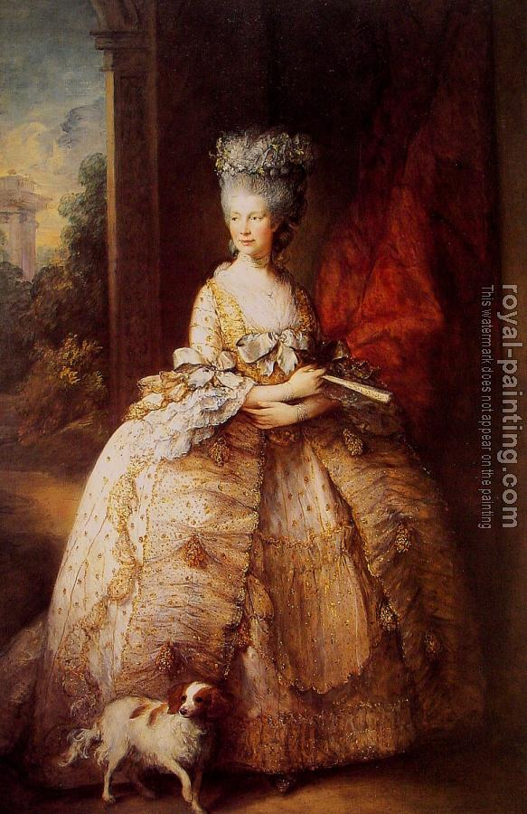 Thomas Gainsborough : Queen Charlotte