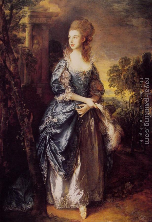Thomas Gainsborough : The Honourable Frances Duncombe