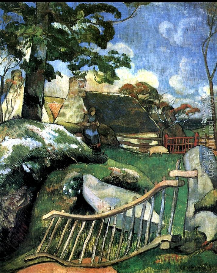Paul Gauguin : La Barriere