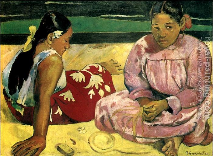 Paul Gauguin : Tahitian Women on the Beach