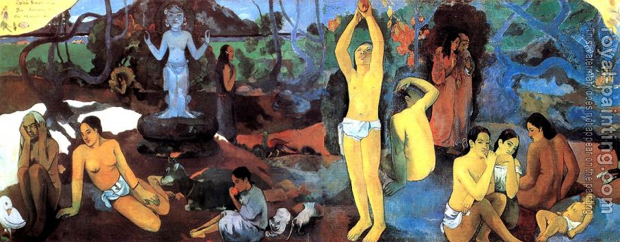Paul Gauguin : Where Do We Come From