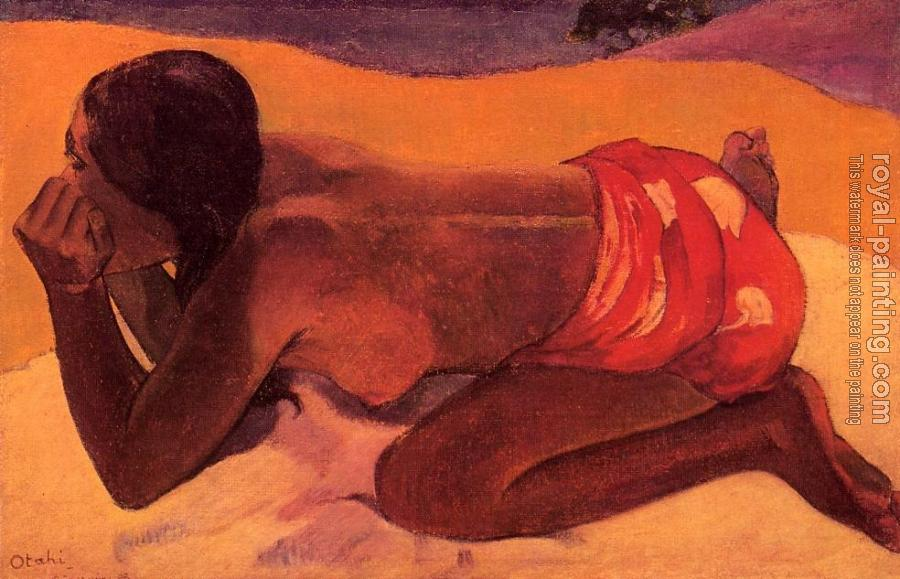 Paul Gauguin : Alone