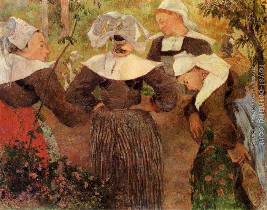 Paul Gauguin : Four Breton Women