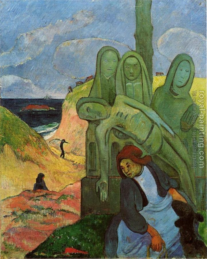 Paul Gauguin : Green Christ