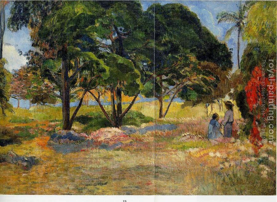 Paul Gauguin : Landscape with Three Trees