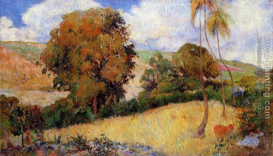 Paul Gauguin : Meadow in Martinique