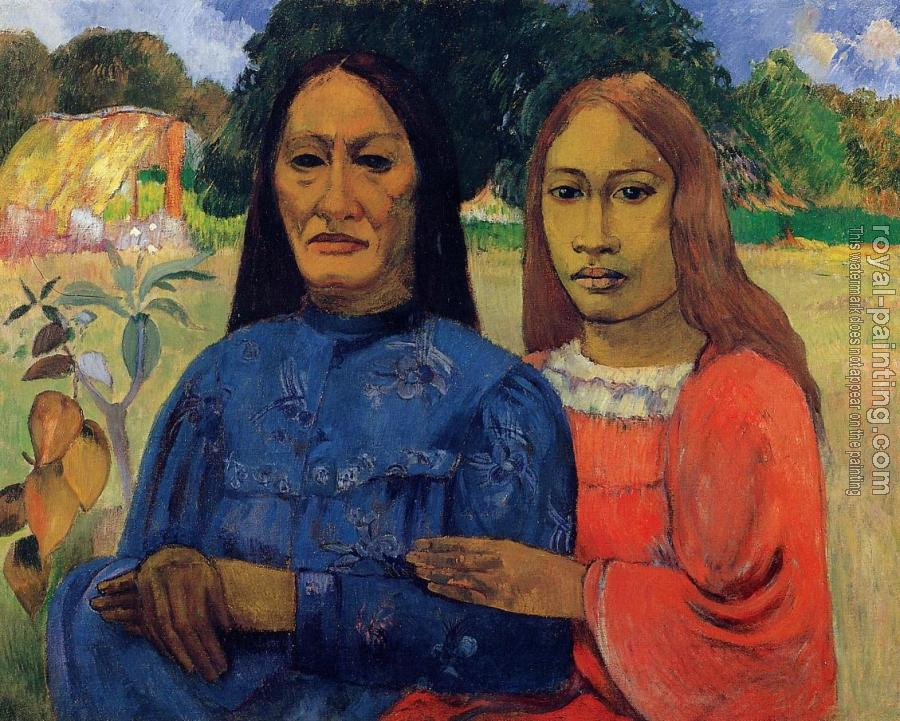 Paul Gauguin : Mother and Daughter