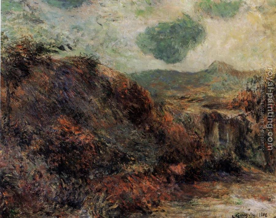 Paul Gauguin : Mountain Landscape
